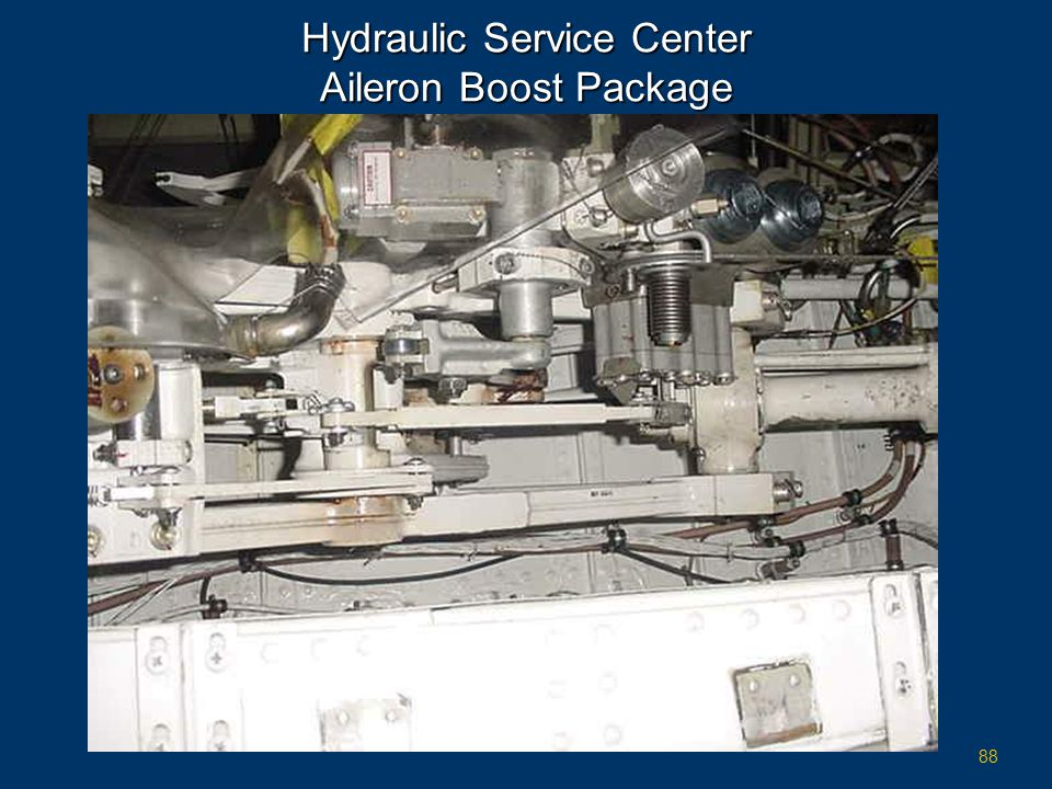 Hydraulic Service Center Aileron Boost Package