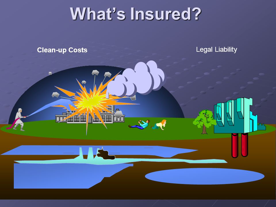 What's Insured Clean-up Costs Legal Liability