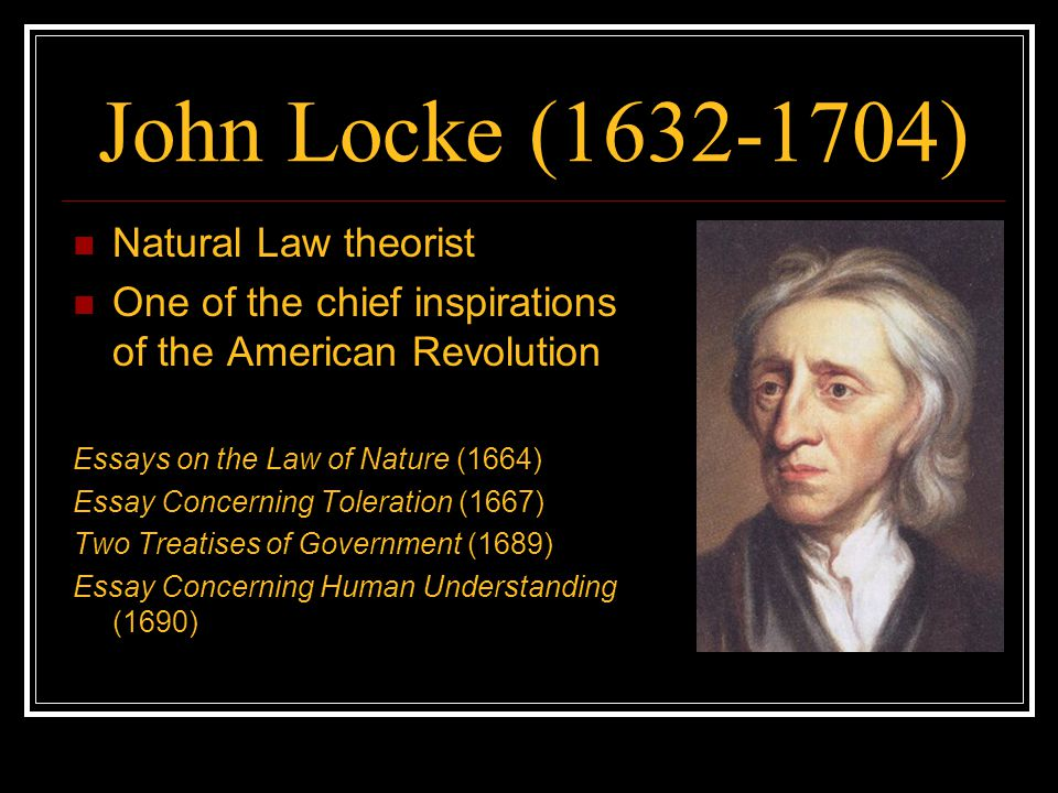 an composition related to toleration john locke