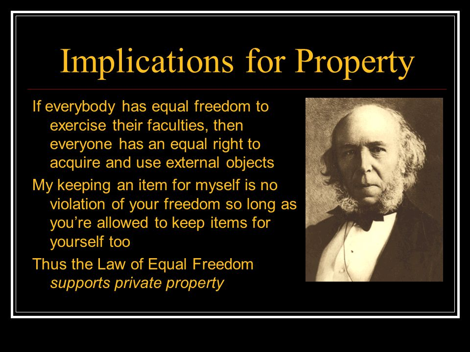 Implications for Property