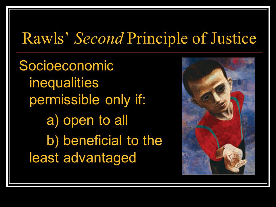 Rawls' Second Principle of Justice
