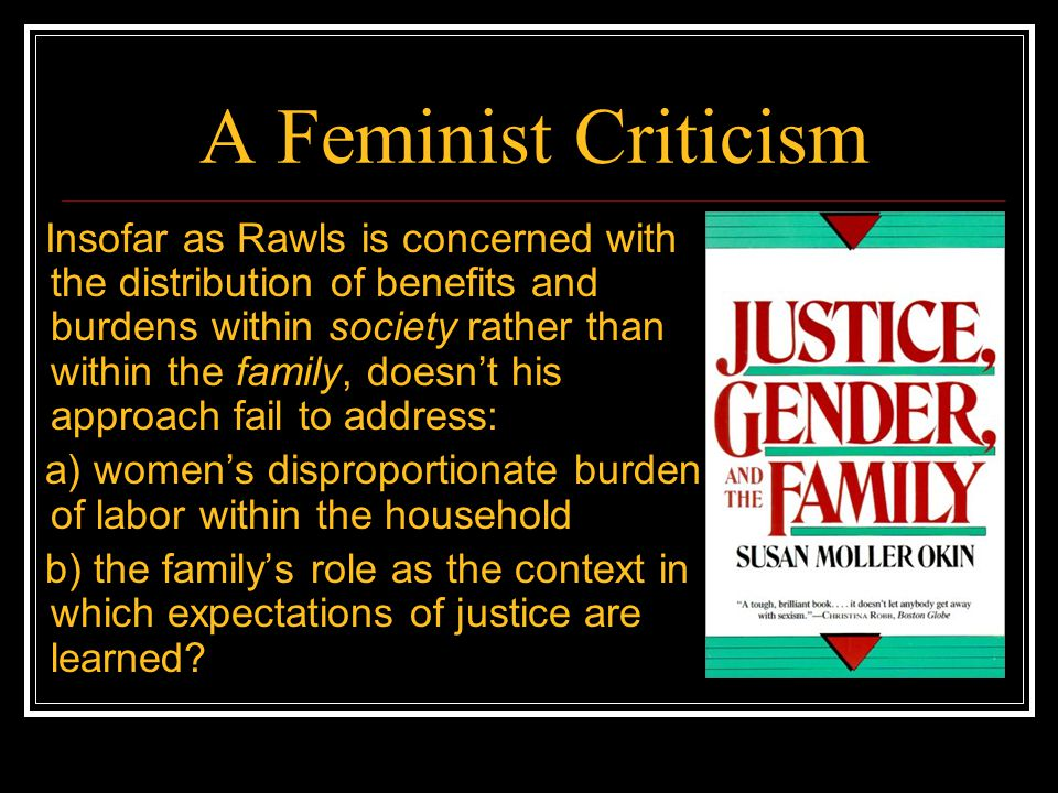 A Feminist Criticism