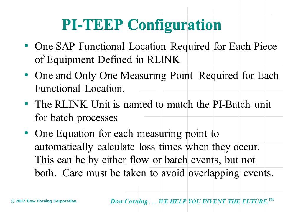 PI-TEEP Configuration