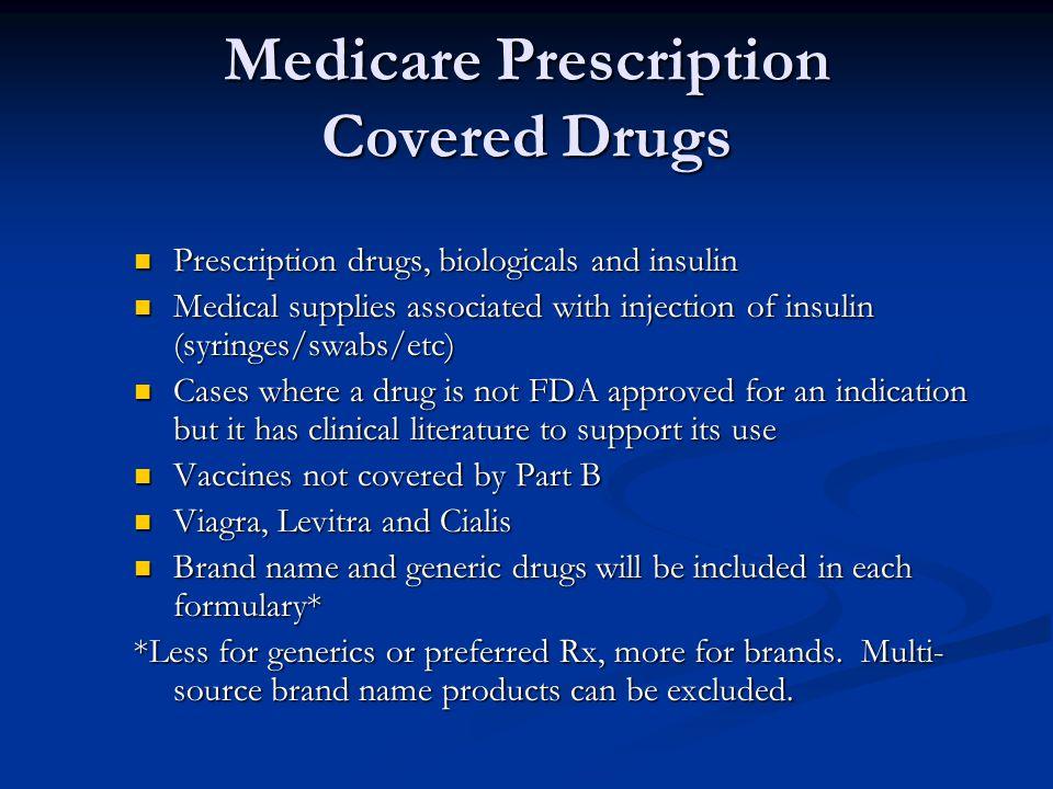 Medicare Prescription Covered Drugs
