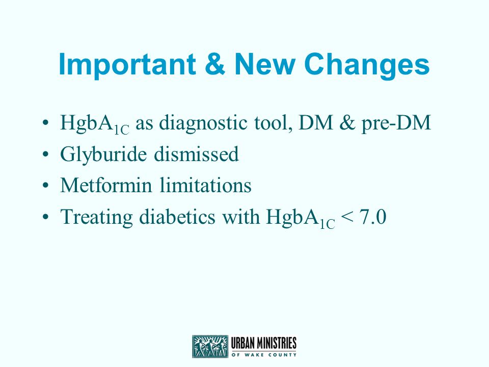 Important & New Changes