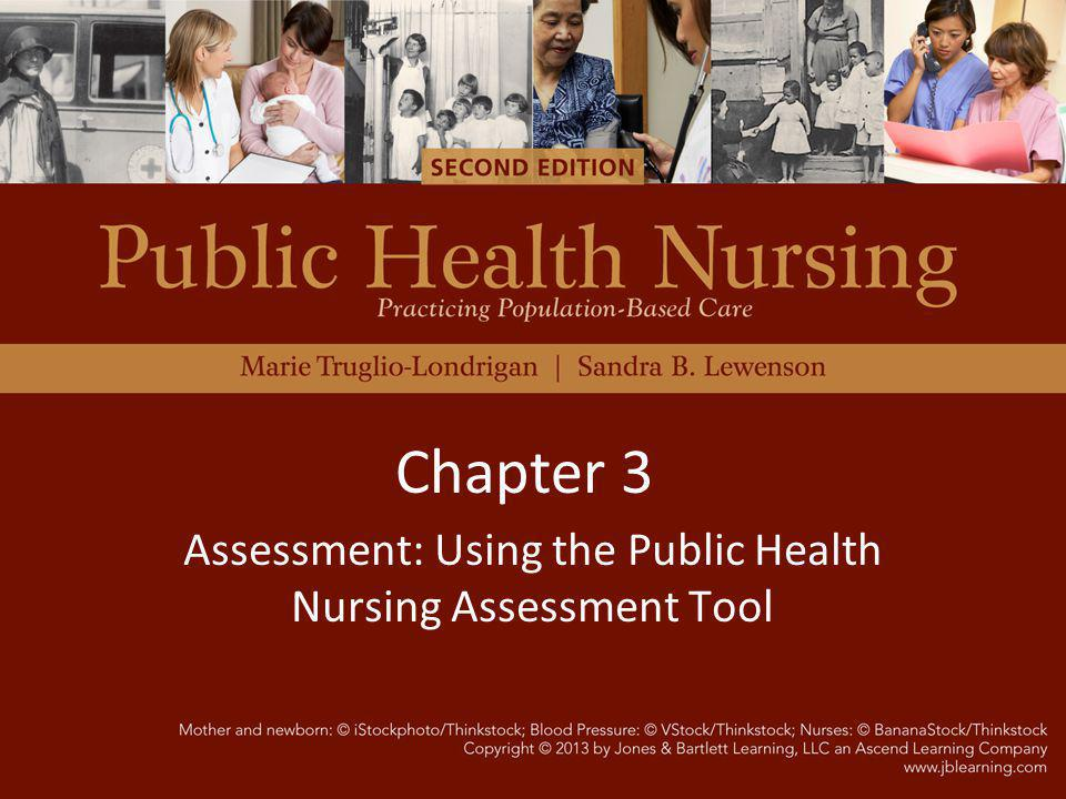 Assessment: Using the Public Health Nursing Assessment Tool