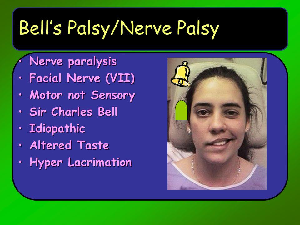 Bell's Palsy/Nerve Palsy