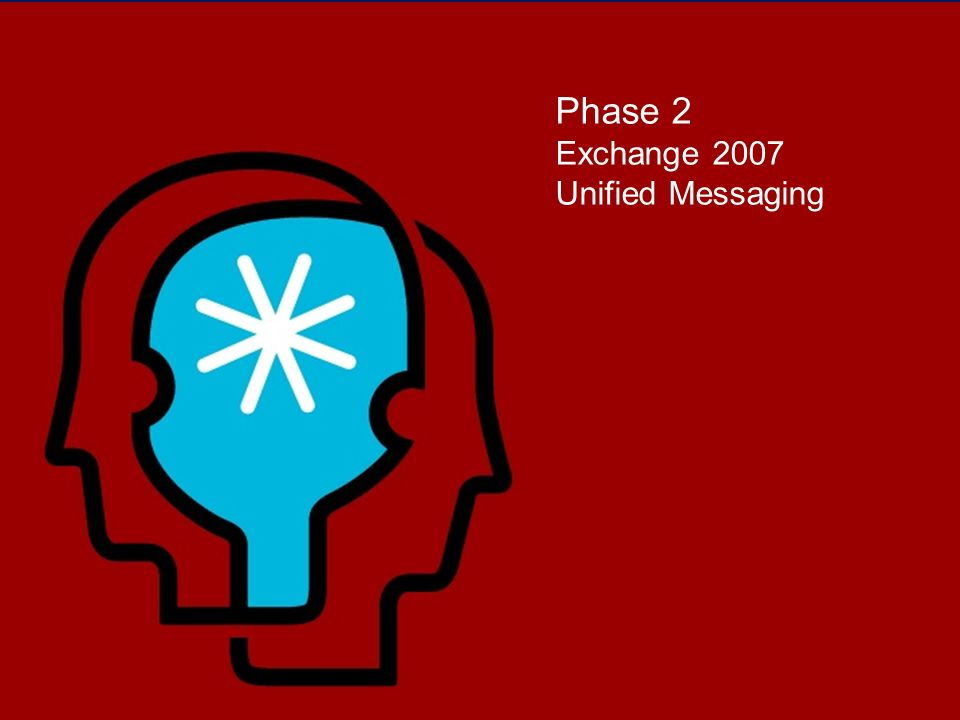 Phase 2 Exchange 2007 Unified Messaging