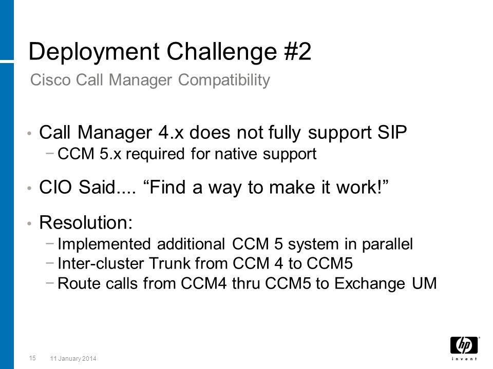 Deployment Challenge #2