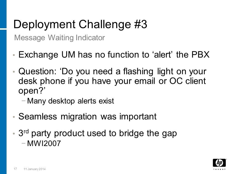 Deployment Challenge #3