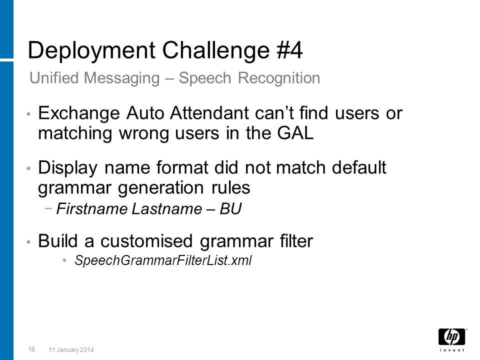 Deployment Challenge #4