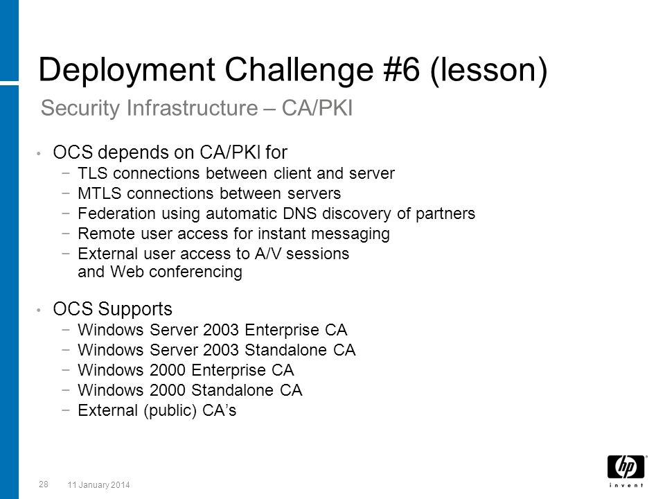 Deployment Challenge #6 (lesson)
