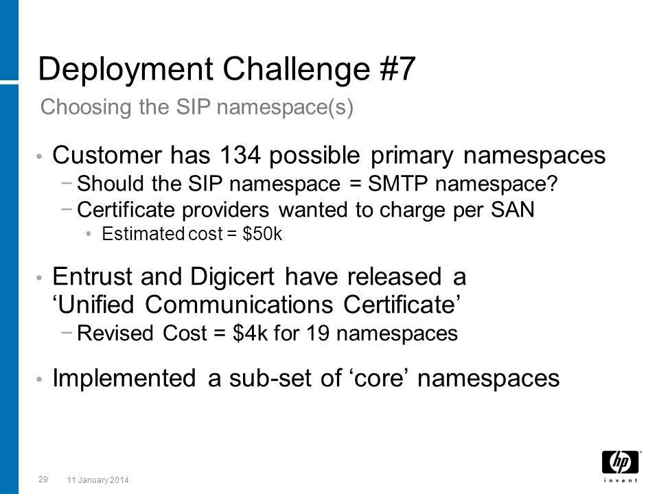 Deployment Challenge #7