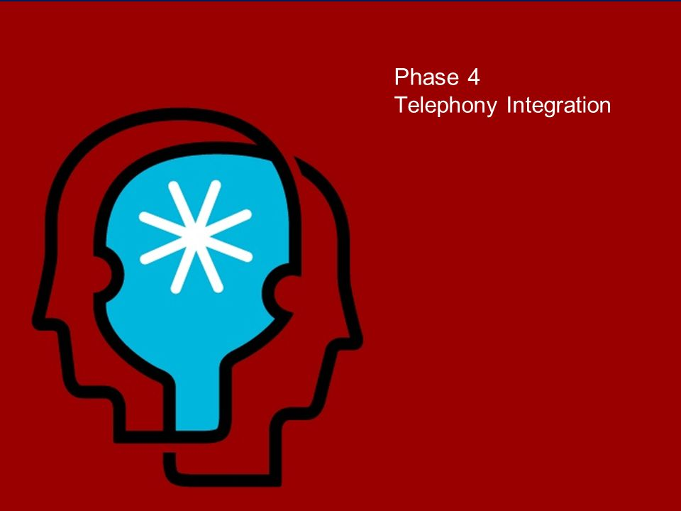 Phase 4 Telephony Integration