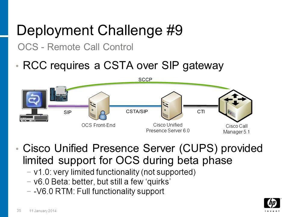 Deployment Challenge #9