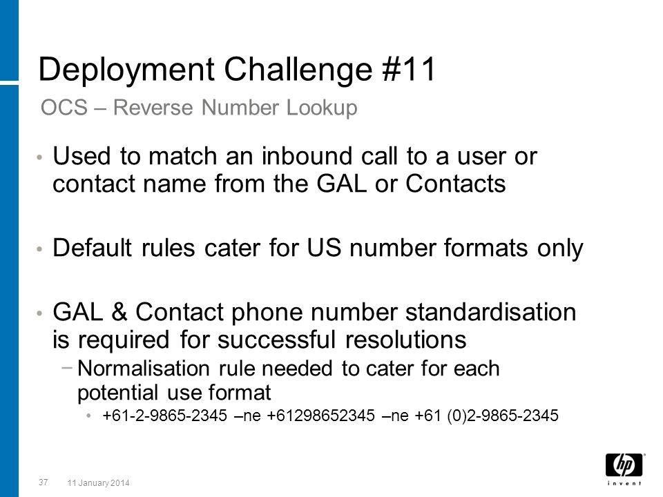 Deployment Challenge #11