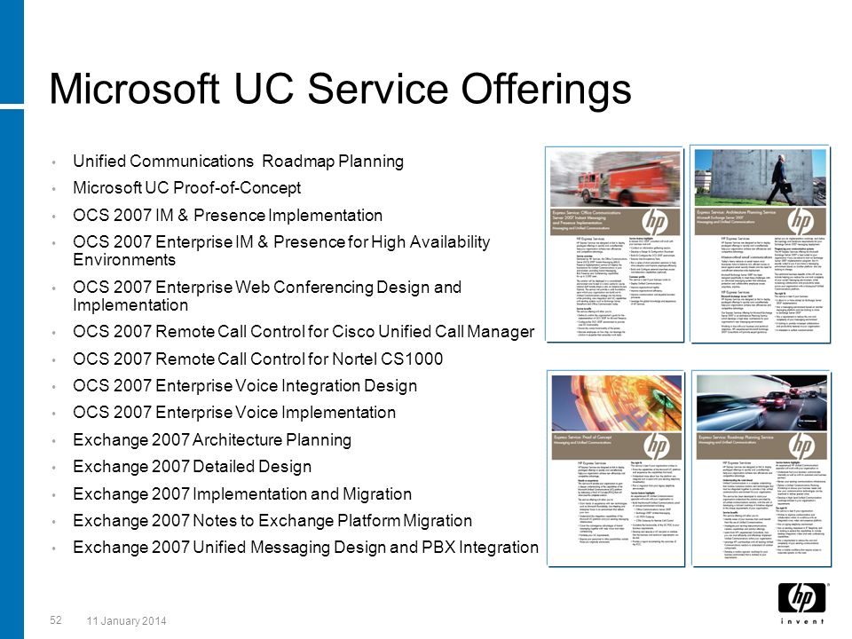 Microsoft UC Service Offerings