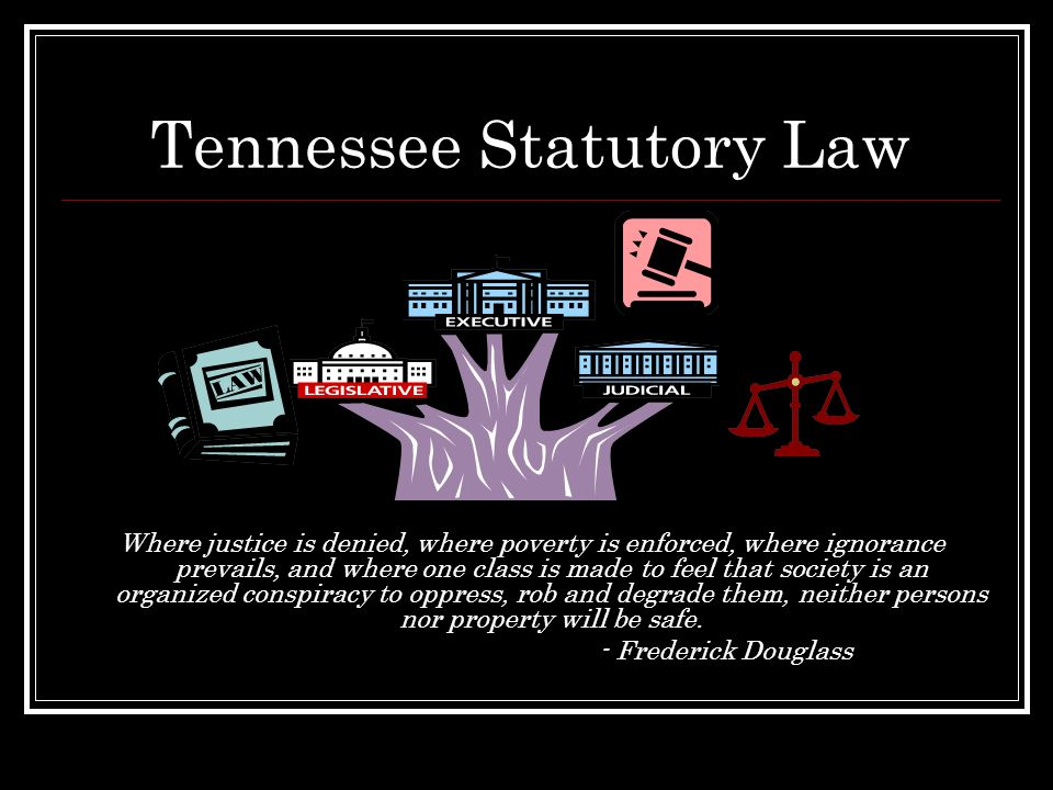 Tennessee Statutory Law