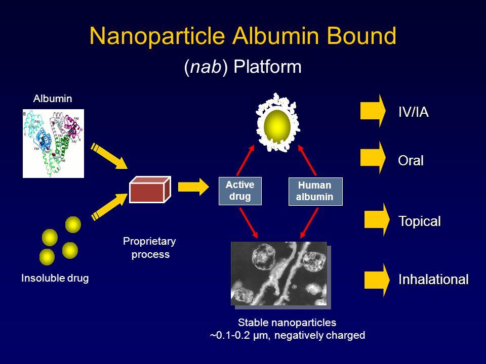 Nanoparticle Albumin Bound (nab) Platform