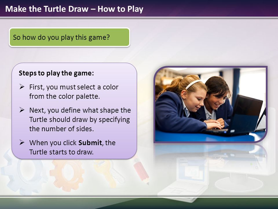 Make the Turtle Draw – How to Play