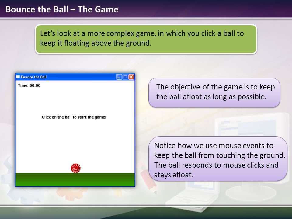 Bounce the Ball – The Game