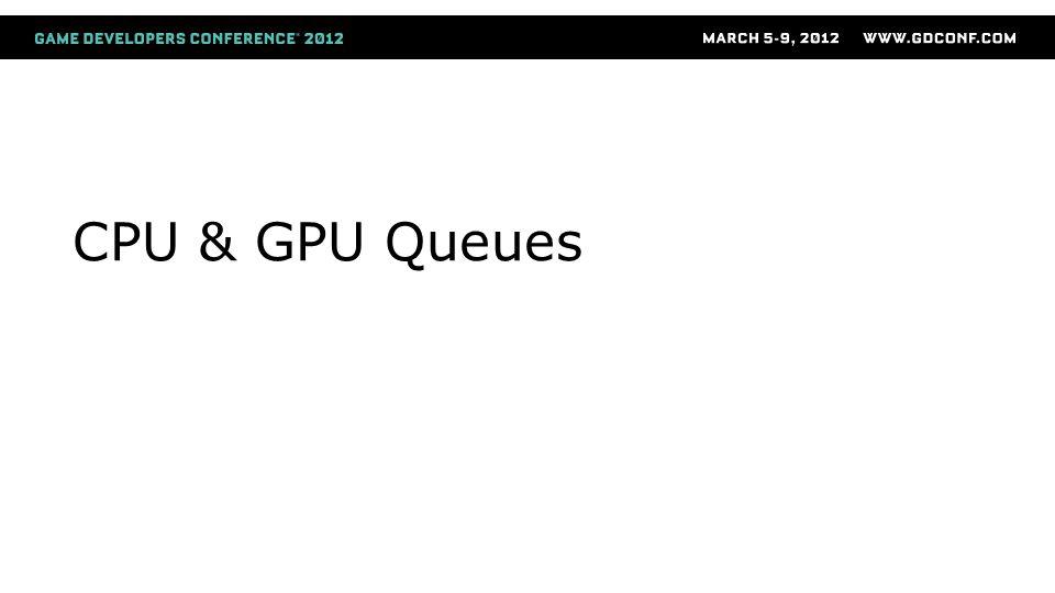 CPU & GPU Queues
