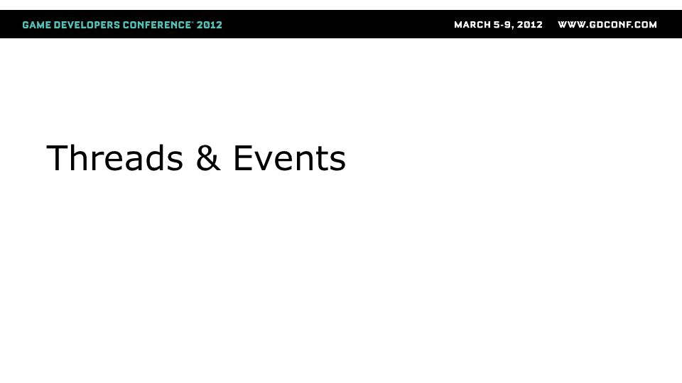 Threads & Events