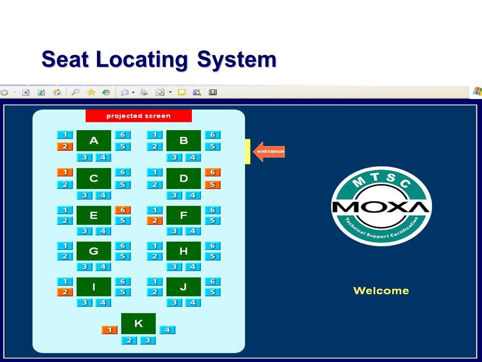 Seat Locating System