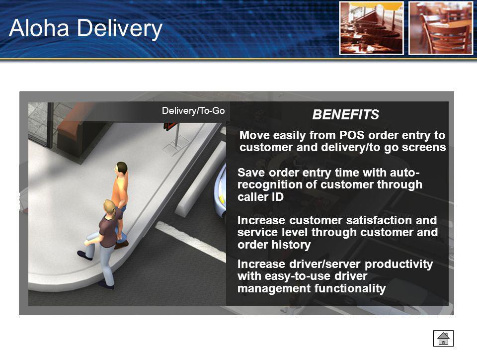 Aloha Delivery BENEFITS
