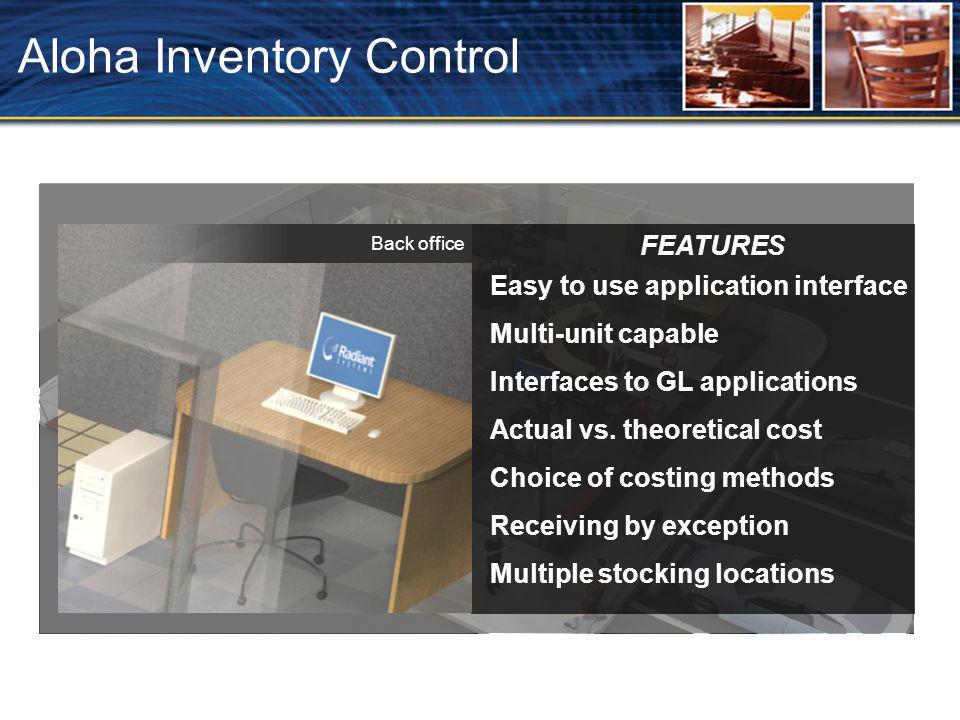 Aloha Inventory Control