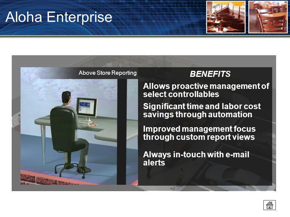 Aloha Enterprise BENEFITS