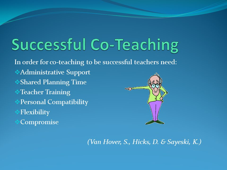 Successful Co-Teaching