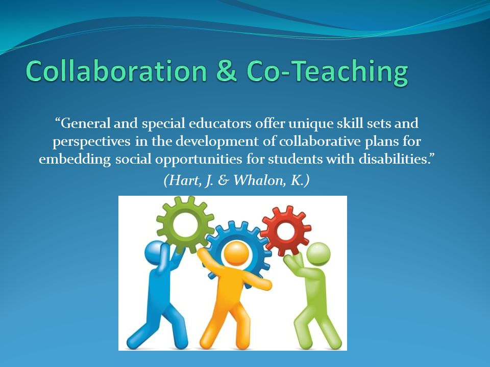 Collaboration & Co-Teaching