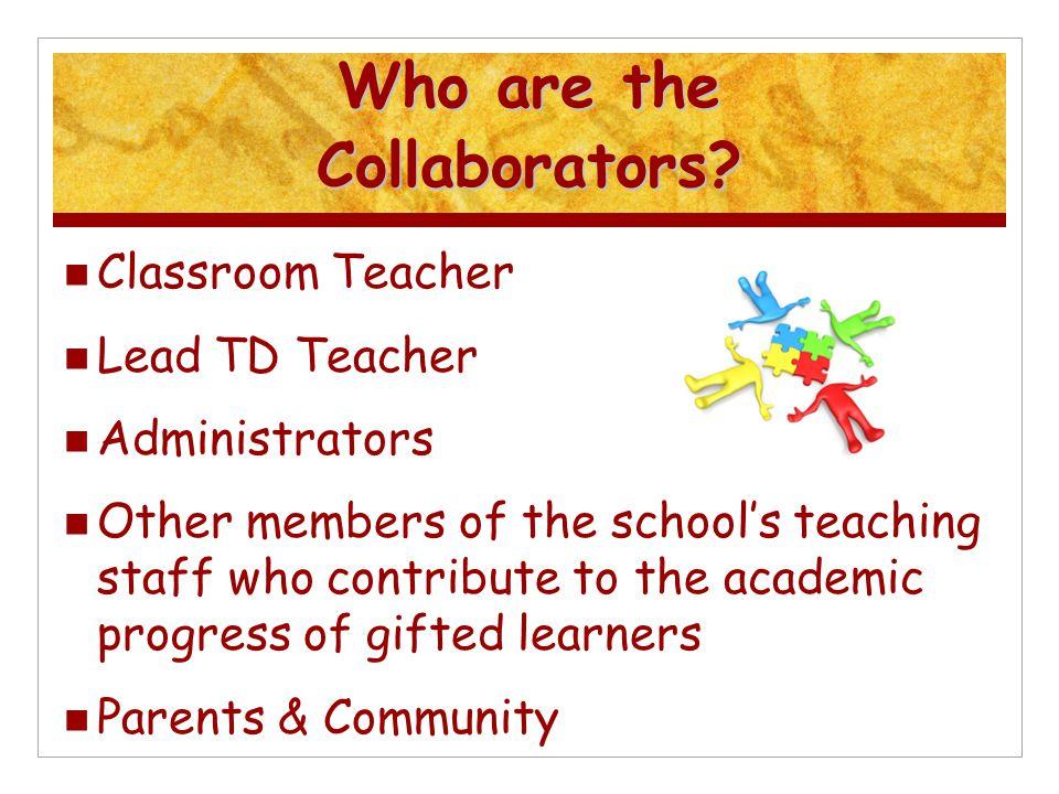 Who are the Collaborators