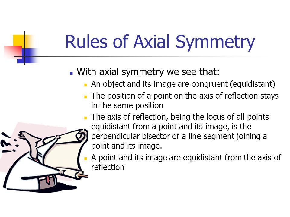 Rules of Axial Symmetry