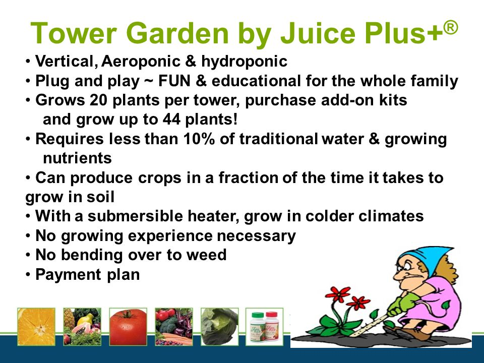 Tower Garden by Juice Plus+®