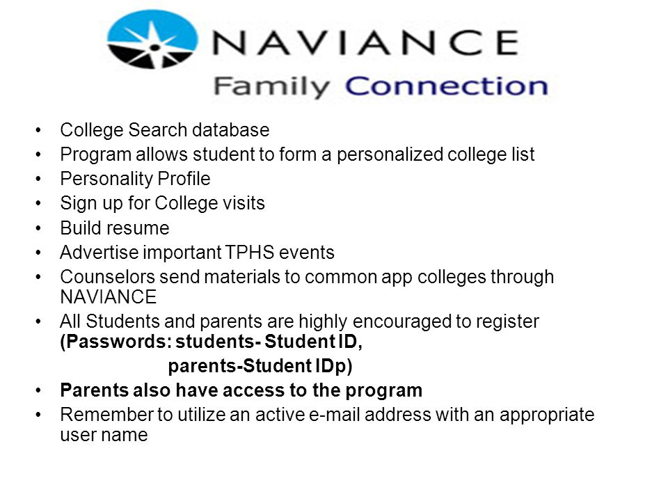 College Search database