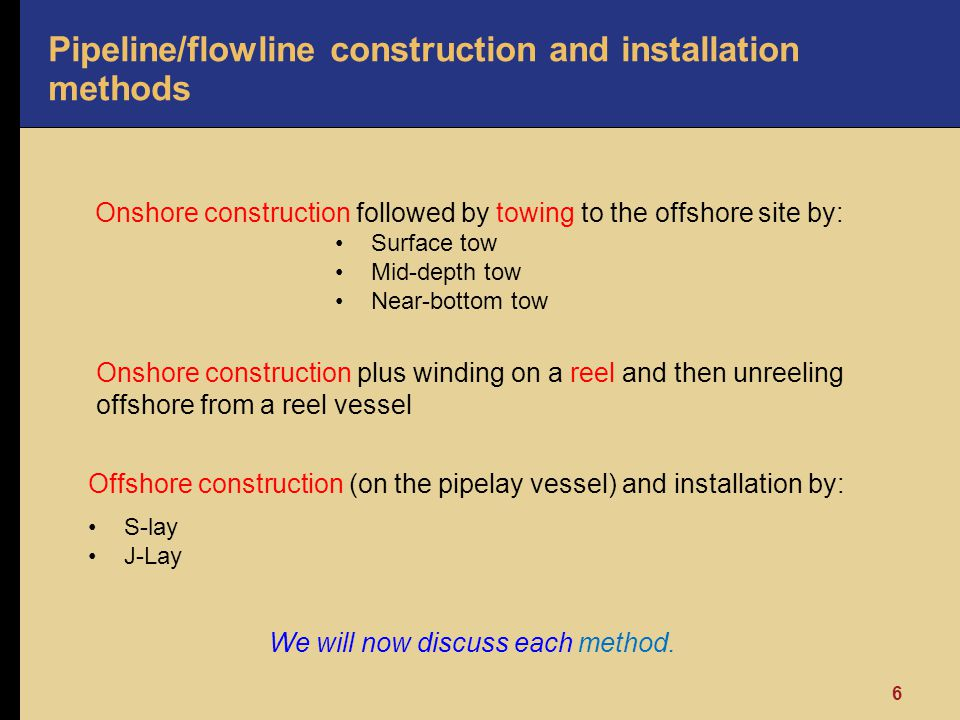 Pipeline/flowline construction and installation methods