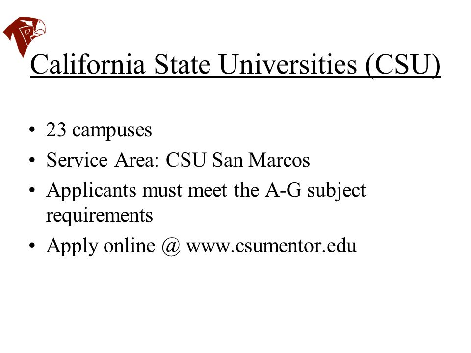 California State Universities (CSU)
