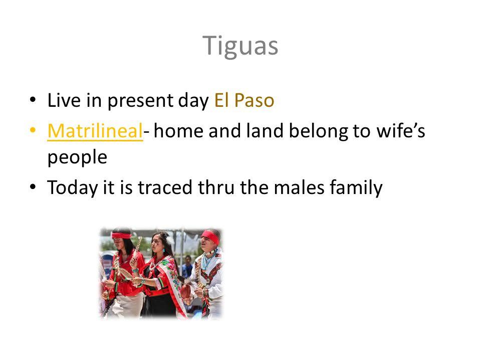 Tiguas Live in present day El Paso
