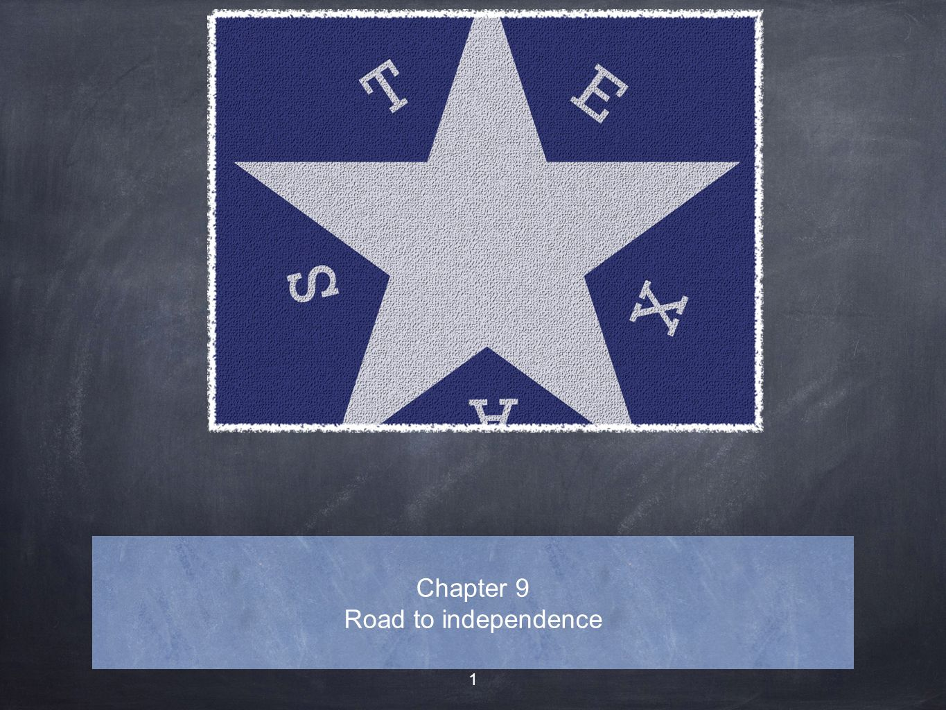Chapter 9 Road to independence
