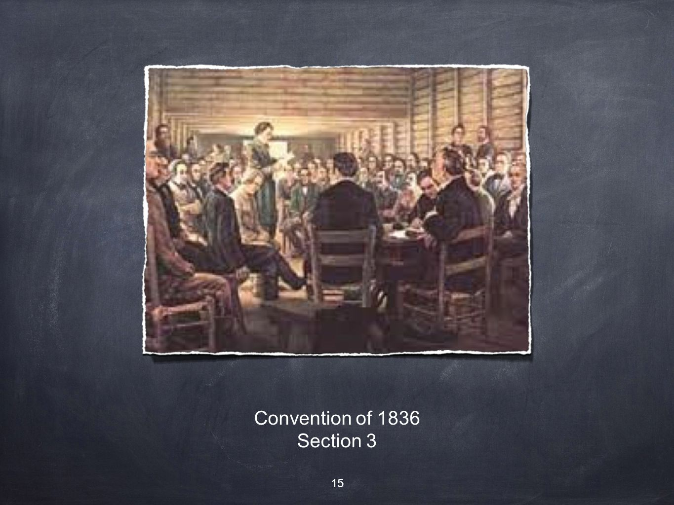 Convention of 1836 Section 3 15
