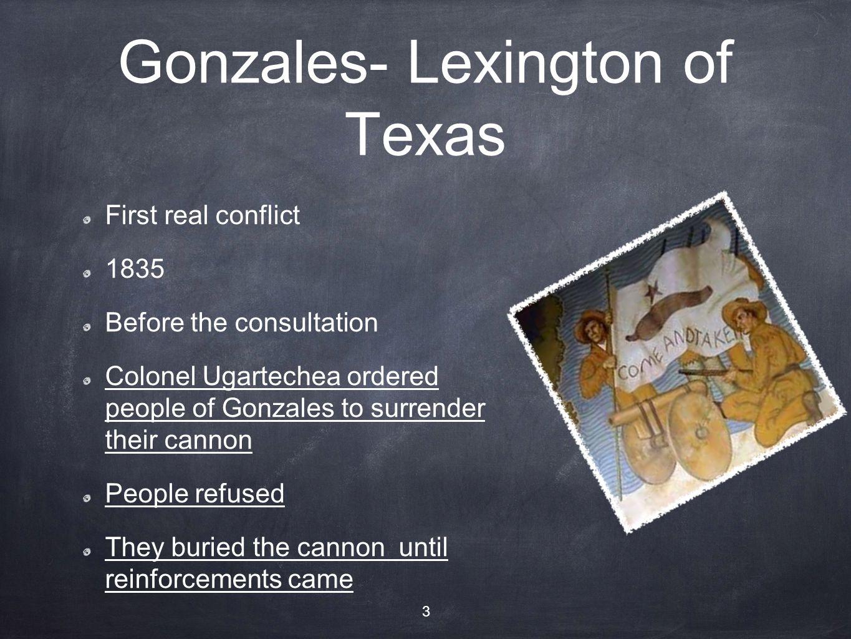 Gonzales- Lexington of Texas