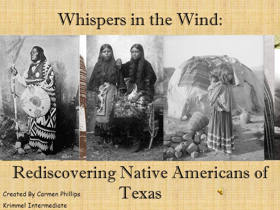 Rediscovering Native Americans of Texas