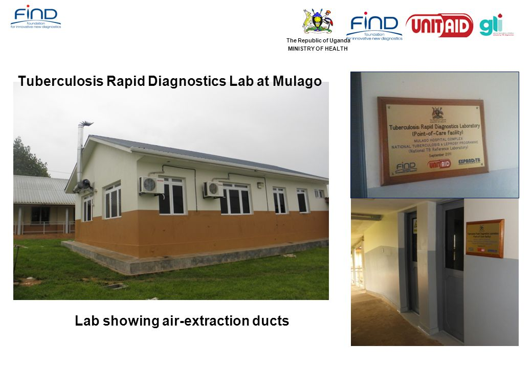 Tuberculosis Rapid Diagnostics Lab at Mulago