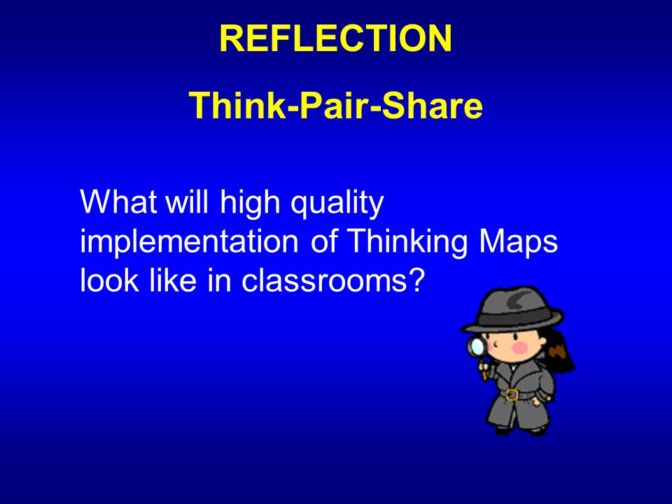 REFLECTION Think-Pair-Share