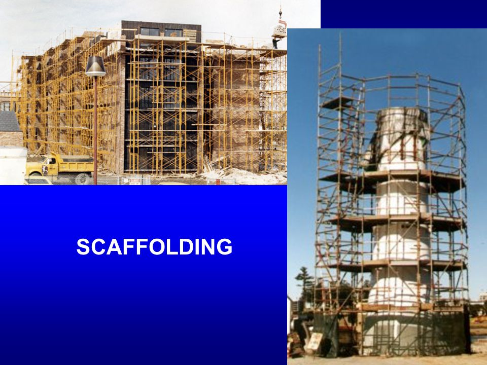 SCAFFOLDING K-12 use, no matter how many times the building changes, the scaffolding stays the same.