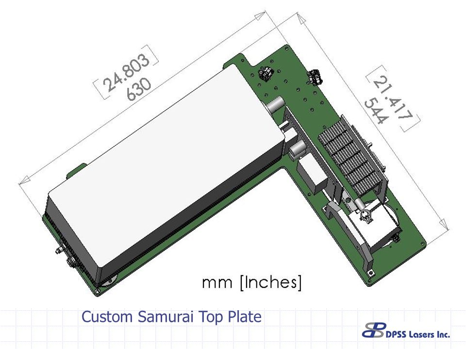 Custom Samurai Top Plate