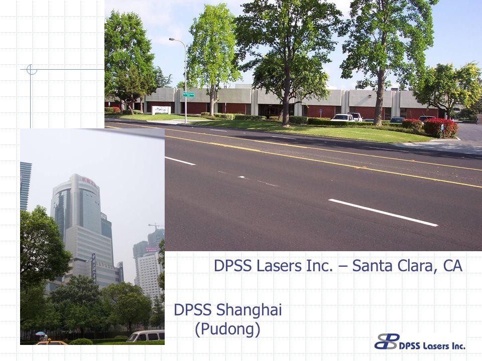 DPSS Lasers Inc. – Santa Clara, CA