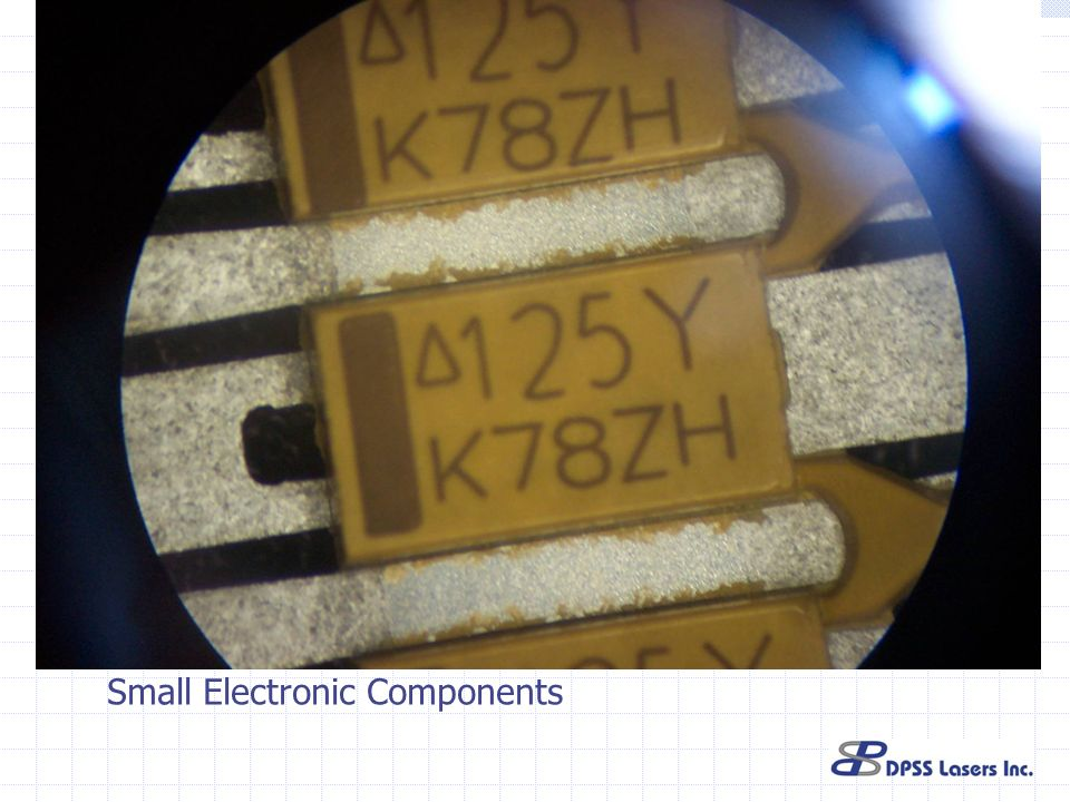 Small Electronic Components